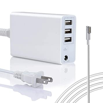 Wakeach 45W/60W USB Charger for MacBook Air 11 13 inch MacBook Pro 13inch(Before 2012 Mid), Replacement for Magsafe 1 Power Adapter L-Tip ...