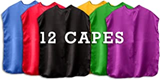 product image for Superhero Capes Children Set of 12 (Choose Your own Combination)