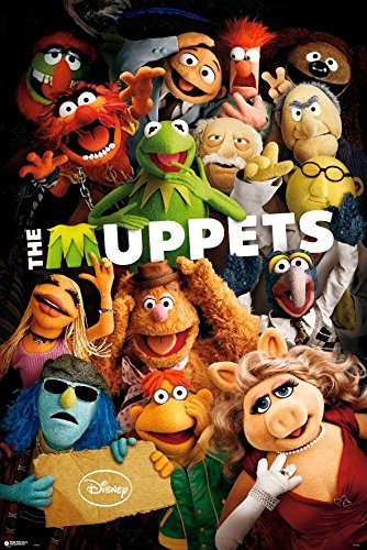 The Muppets - TV Show / Movie Poster / Print The Cast - Kermit,