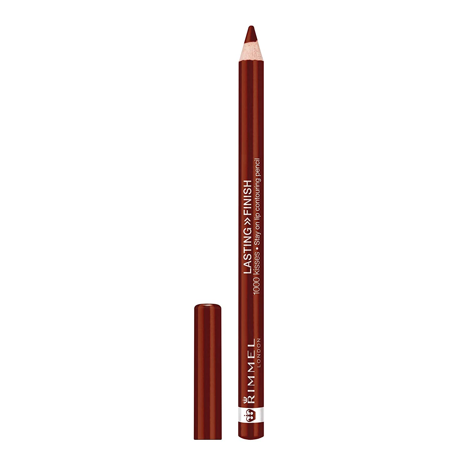 Rimmel London Lasting Finish 1000 Kisses Lip Liner, Coffee Bean - 041, 1.2g Coty 34788494041