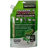 Biomaster Compost-It Compost Accelerator/Starter 100g Spout Pack for All Composting Systems, (100% Natural Concentrate)