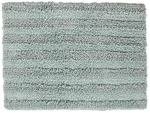 Chesapeake Merchandising 37405 Striped Cotton Reversible Bath Rug (6 Pack), 30'' x 50'', Moon Stone by Chesapeake Merchandising