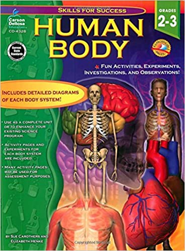 Amazon.com: Human Body, Grades 2 - 3: Fun Activities, Experiments ...