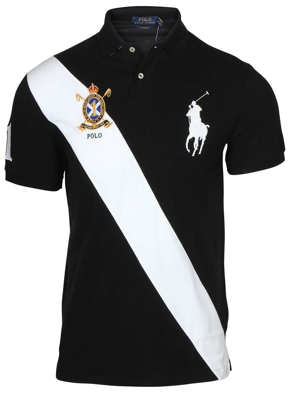 470f48f59 Polo Ralph Lauren Men s Custom Fit Big Pony Banner Polo Shirt (M ...