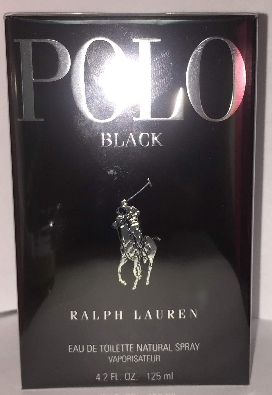 Polo Black by Ralph Lauren Eau De Toilette Spray 4.2 oz / 125 ml ...
