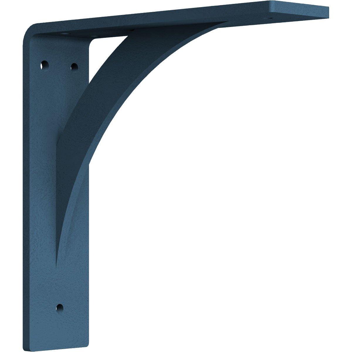 Ekena Millwork BKTM02X08X08LESS 2-Inch W x 8-Inch D x 8-Inch H Legacy Bracket, Stainless Steel