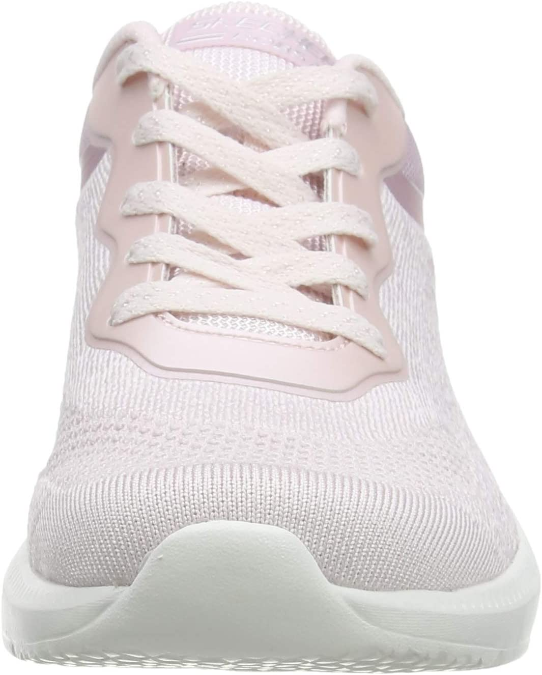 Skechers Ariana Metro Racket Sneakers voor dames Roze Blush Engineered Knit Blush