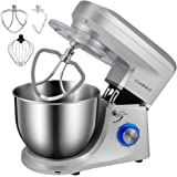 Cookmii Stand Mixer, 7L 1100W 6-Speed Tilt-Head Food Mixer, Kitchen Electric Mixer with Dough Hook, Wire Whip & Beater…