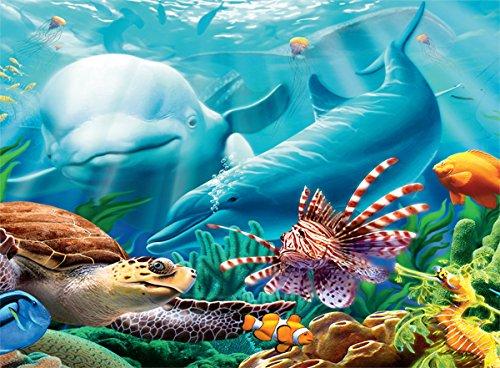 Ceaco Undersea Glow Seavilians Jigsaw Puzzle 1616-3