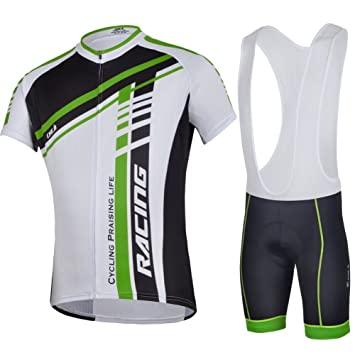 36c02f574 CHEJI 2014 Cycling Jersey Short Sleeve BIB Shorts Set Silicon Gel Padded  Men s Bicycle Sportwear Bike