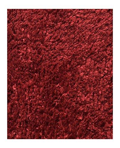 Mohawk Home Cut to Fit Royale Velvet Plush Bath Carpet, Claret, 6 10 Feet