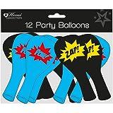 PAM'S - Ballons pour fêtes et cadeau - Décoration de mariage - Argentés - Formes spéciales