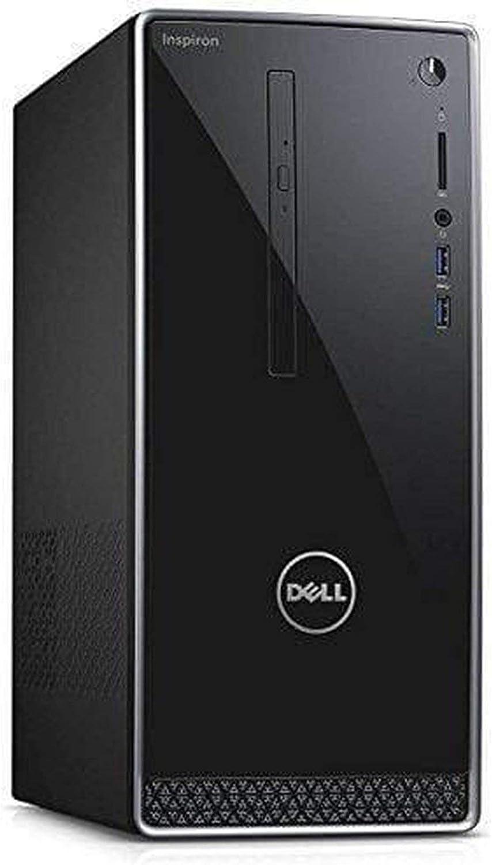 Dell Inspiron 3668 Desktop PC Intel i5-7400 Quad Core 3.0GHz 12GB 1TB DVD W10H - Black (Renewed)