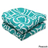 Pillow Perfect Indoor/Outdoor Wicker Seat Cushion