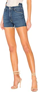 product image for MOTHER Womens Dazzler Shift Fray Short Violets are Blue 31