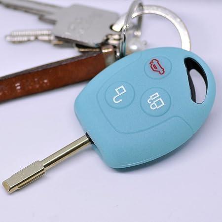 Soft Case Schutz Hülle Auto Schlüssel Für Ford Transit Elektronik