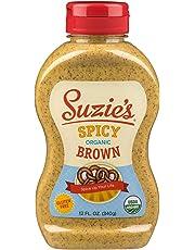 Suzie's Organics Spicy Brown Mustard, 355ml