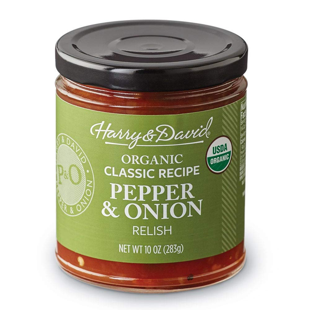 Harry & David Organic Classic Pepper & Onion Relish (10 Ounces)