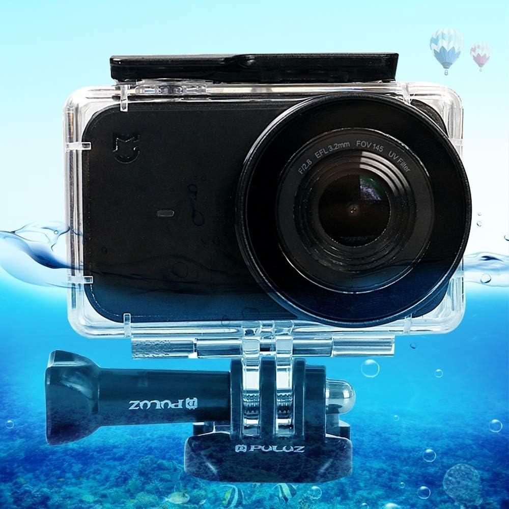 YANGJ Yangjian Estuche de Buceo de Carcasa Impermeable de plexiglás acrílico subacuático de 45 m for cámara pequeña Xiaomi Mijia, con Hebilla de Montaje básico y Tornillo