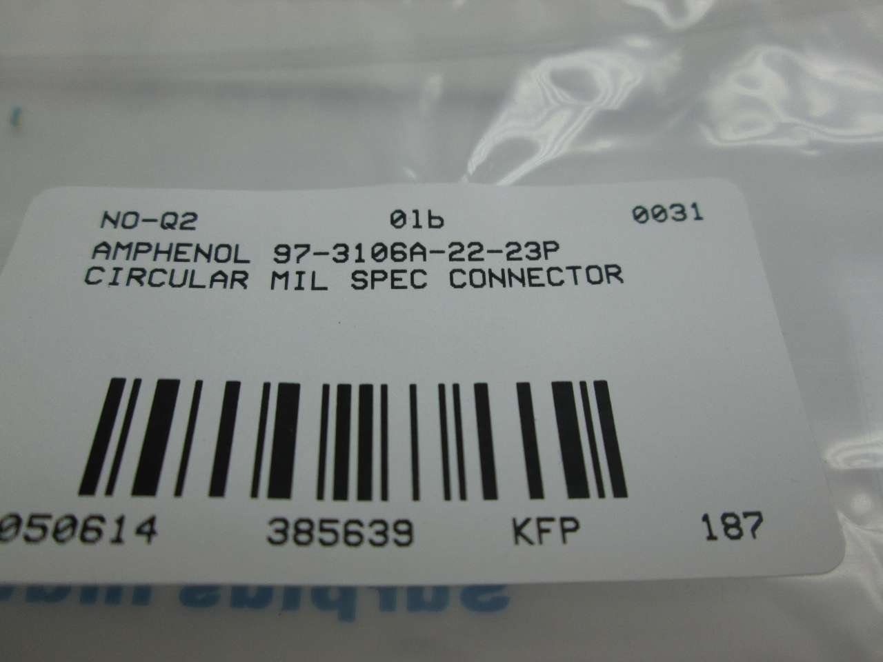 Amphenol Part Number 97-3106A-22-5P