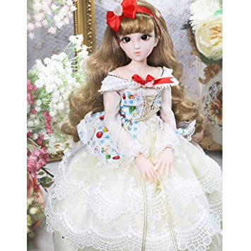 Large Chest Female Body Ball Jointed Doll for 1//4 BJD Girl Doll DIY Toys