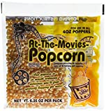 popcorn - At-The-Movies Popcorn & Coconut Oil Portion Packs-Case of 24 (4oz Kettle)
