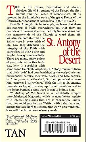 St. Antony of the Desert: St. Athanasius, JB McLaughlin ...