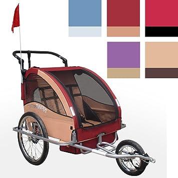 Infantastic FAH16 - Bicicleta con Carro para Llevar niños 2 en 1 ...