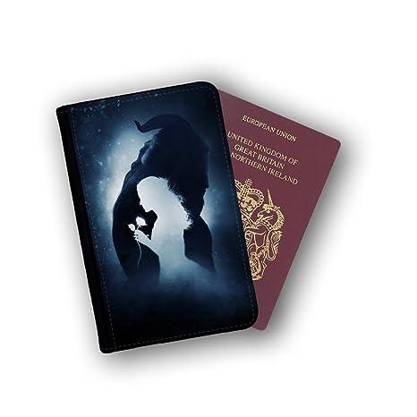 Case Genius PT208 - Cartera para pasaporte Negro Black Inside