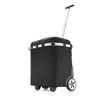 Klein- & Hängeaufbewahrung Möbel & Wohnen Reisenthel Carrycruiser Trolley Einkaufskorb Thermo Kühltasche Schwarz 40 L