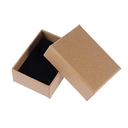 9e582d8367d5 Amazon.com: SUPVOX 10PCS Jewelry Gift Boxes Kraft Paper Earrings Box ...