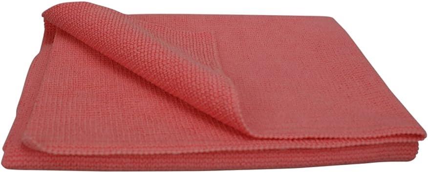 Scholl Concepts Microplus Poliertuch Premium Microfasertuch Rot 40x40 Auto