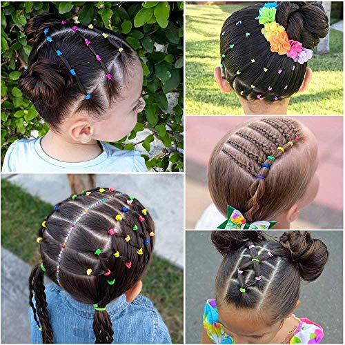 100x Einfache Frauen Mädchen Elastische Haargummis Haarr Haarschmuck Elasti G6W4