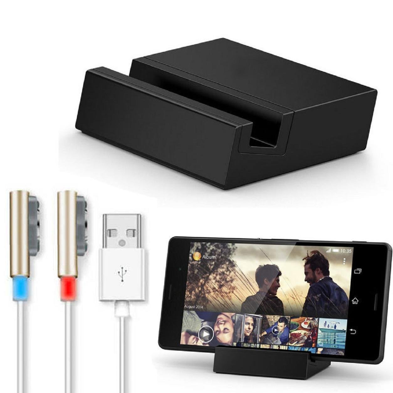 Malloom® para Sony Xperia Z3 / Z3 Compact magnético USB W ...