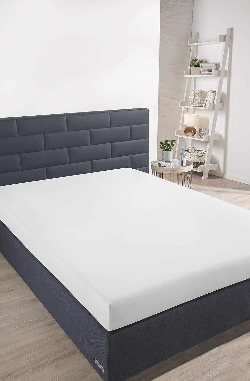 Schiesser sábana Bajera Ajustable, algodón, Blanco, 180 x 200 cm: Amazon.es: Hogar