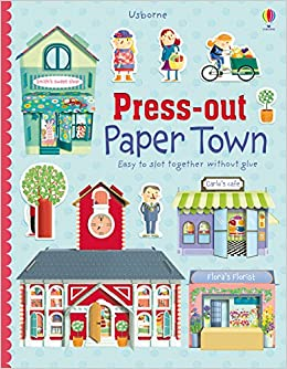 Usborne Press Out Paper Town