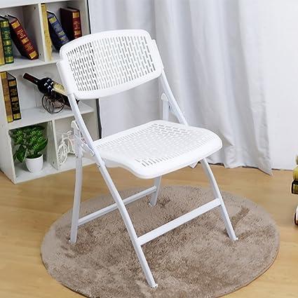 Respirable y cómodo silla de respaldo silla plegable silla ...