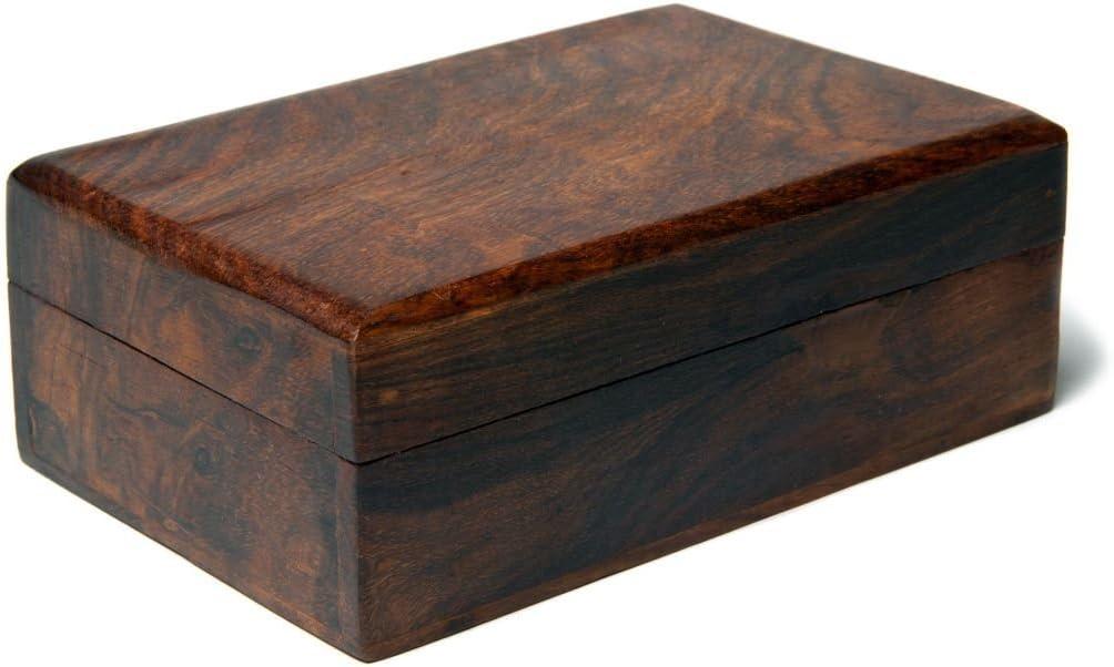 Scatola porta gioie per tarocchi in legno liscio PORTA GIOIE CHIAVI SCATOLE SCRIGNO