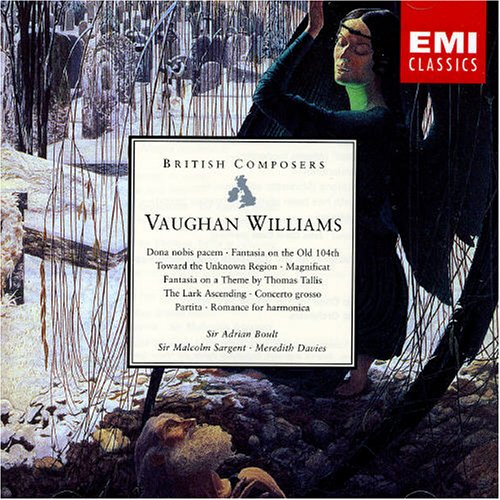 Vaughan Williams. Choral & Orchestral Works by EMI Import