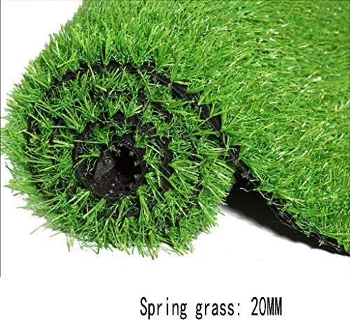 XEWNEG 庭用人工芝、暗号化されたカーペットマット、排水穴付き、カット可能、グリーンシミュレーション合成芝生ファミリーウェディングパーティーデコレーション(30mm) (Size : 2x2.5M)