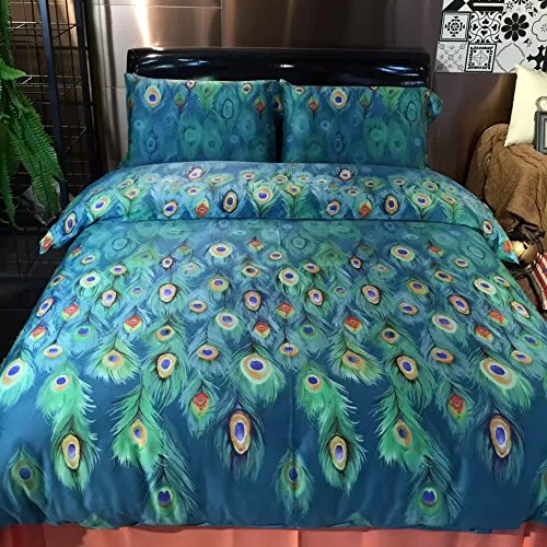 Peacock bedding set ideas best peacock colored bedding for Best color bed sheets