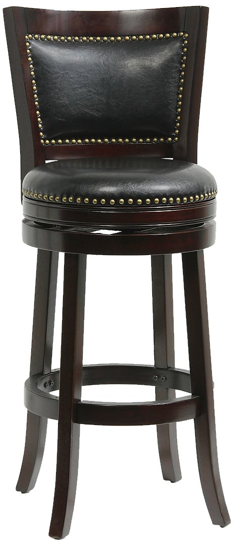 boraam bar stools. Amazon.com: Boraam 42829 Bristol Bar Height Swivel Stool, 29-Inch, Cappuccino: Kitchen \u0026 Dining Stools E