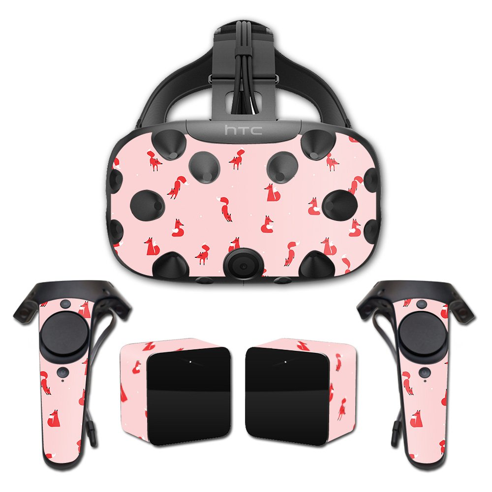 MightySkins Skin For HTC Vive Full Coverage - Winter Fox Pattern   Protective, Durable, and Unique Vinyl Decal wrap cover   Easy To Apply, Remove, and Change Styles   Made in the USA