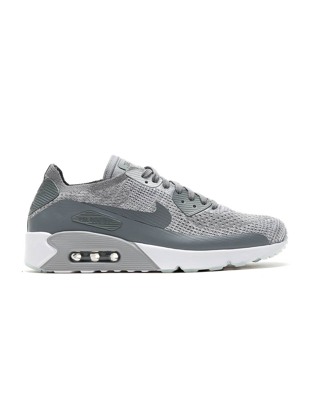 online store 23b64 46e6c Galleon - Nike Men s Air Max 90 Ultra 2.0 Flyknit, Pure Platinum Cool  Grey-White, 12 M US