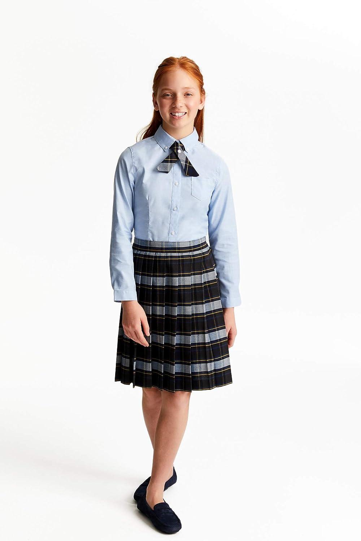 French Toast Girls Big Knee Plaid Pleat Skirt