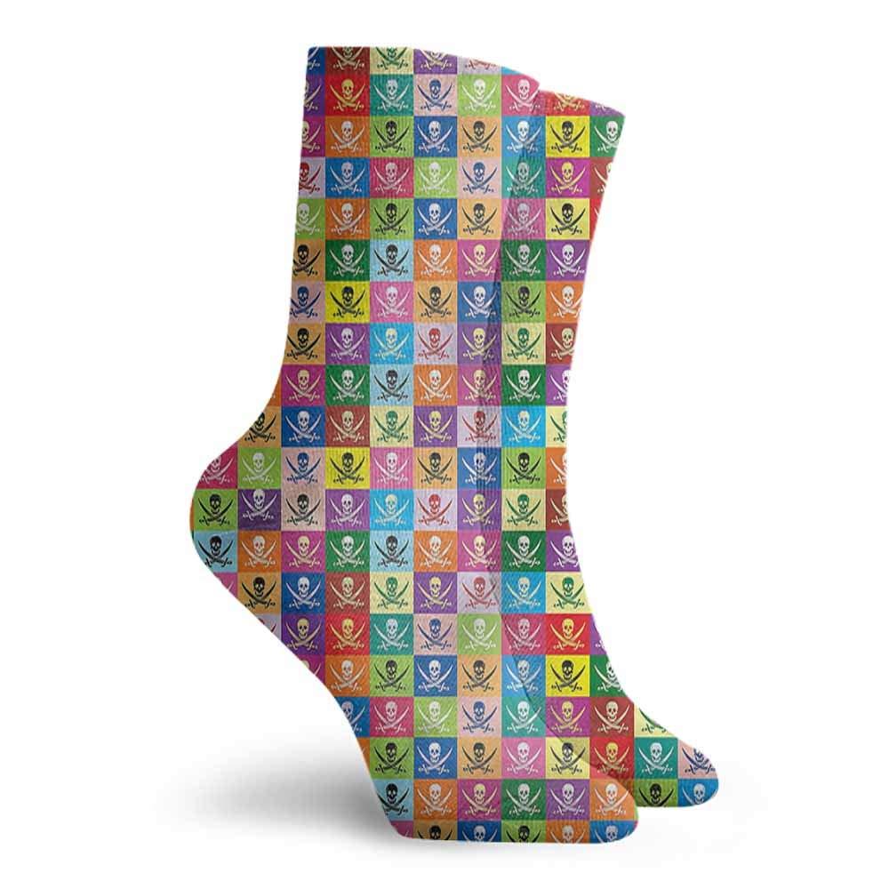 Funny Socks For Female Sox Skull,Listening Music Theme Bones,socks women cotton 100/%