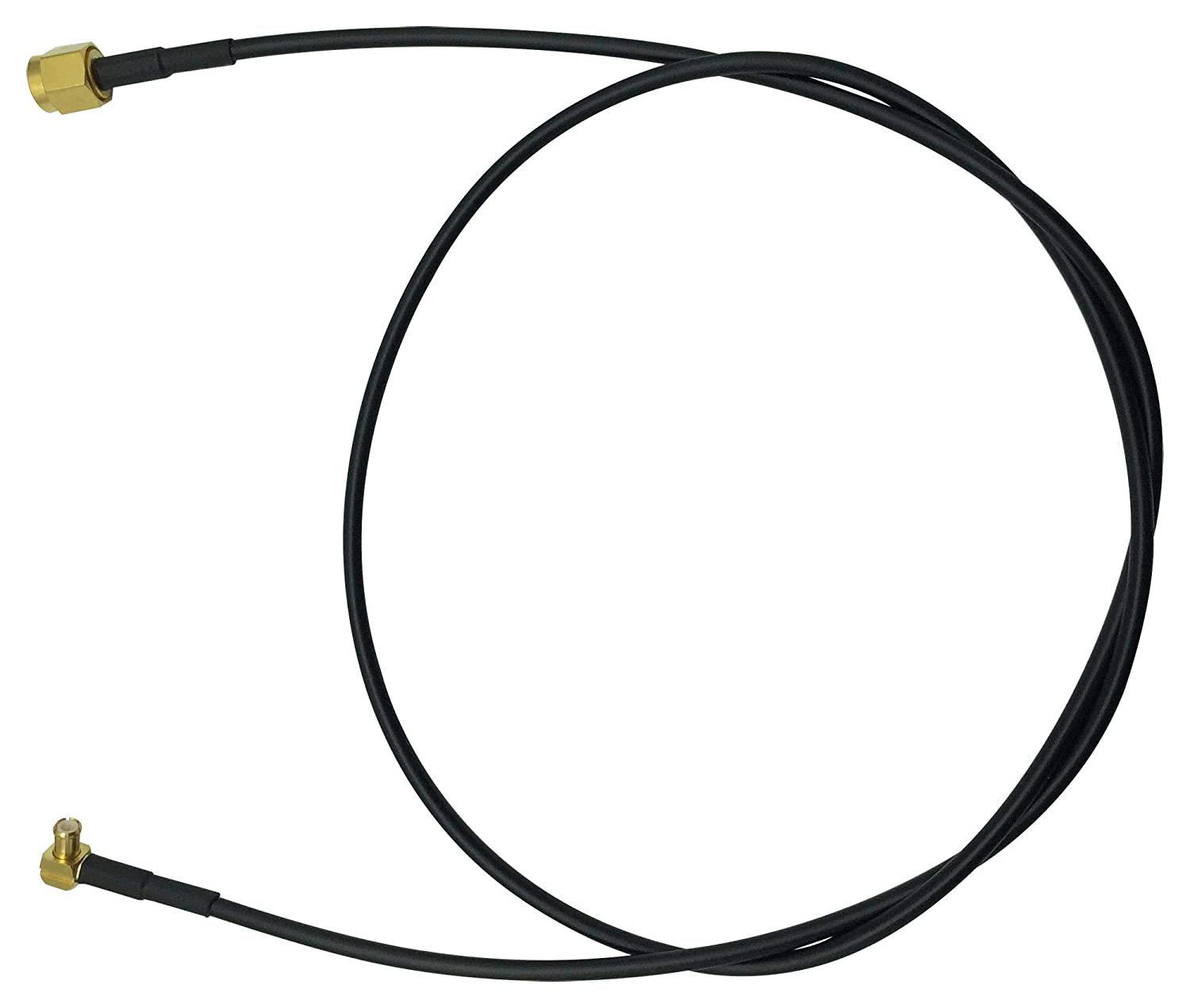SMA-MCX R//A PLUG MC002997 MC002997 RF CABLE ASSY 650MM Pack of 5
