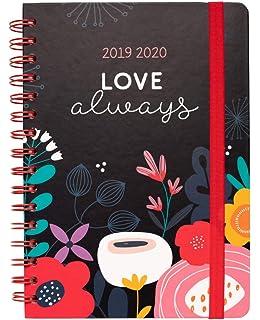 Agenda escolar 2019/2020 A5 12 meses Semana Vista Frida ...