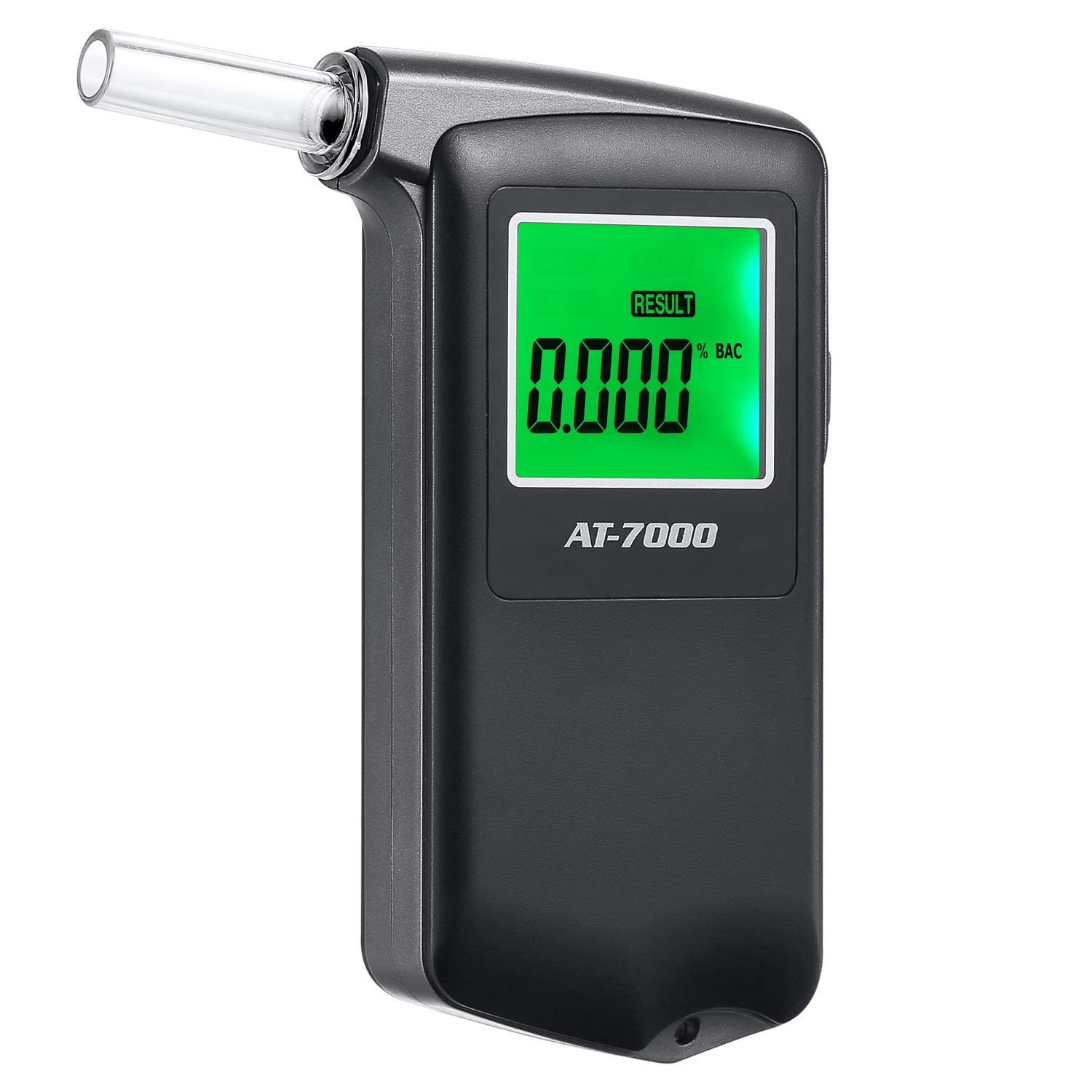 Professional Portable Breath Alcohol Tester Digital Display with Extra Replaceable Mouthpieces by YIKKAI