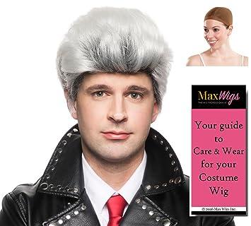 Amazoncom Carlos De Vil Color Blackwhite Enigma Wigs Son Of